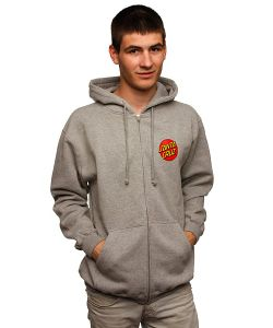Santa Cruz | Толстовка Classic Dot Grey Heather