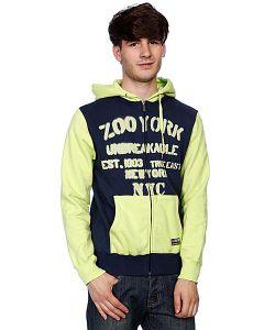 Zoo York | Толстовка Gym Class Stencil Fl. Green