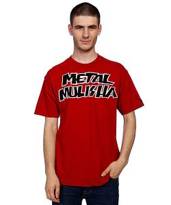 Metal Mulisha | Футболка Contender Cardinal