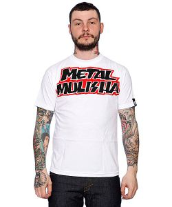 Metal Mulisha | Футболка Contender White