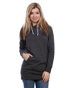 Santa Cruz | Кенгуру Женское Opus Dot Long Pullover Charcoal Heather