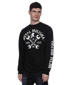 Metal Mulisha | Толстовка Service Crew Fleece Black