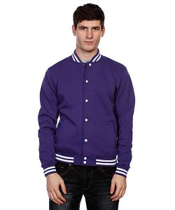 Urban Classics | Куртка Бомбер College Sweatjacket Purple
