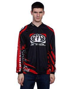 Animal | Лонгслив Team Rider Jersey Black/Red