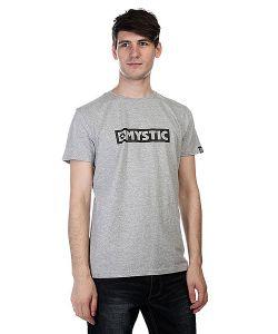 Mystic   Футболка Brand Tee Grey Melee