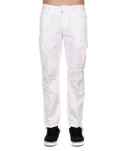 Urban Classics | Штаны Combat Cargo Pants White