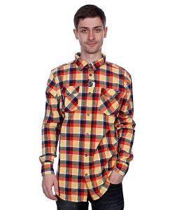 Globe | Рубашка В Клетку Corsair Shirt Orange