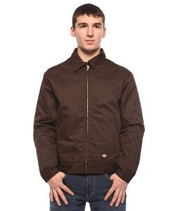 Dickies   Ветровка Lined Eisenhower Jacket Dark Brown