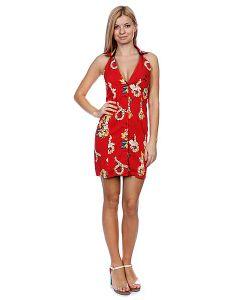 Fred Perry | Платье Женское Amy Hawaiian Print Dress Red