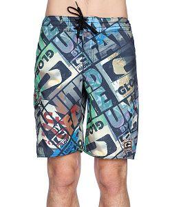 Globe | Пляжные Мужские Шорты Roeder 21 Boardshort Multi Coloured