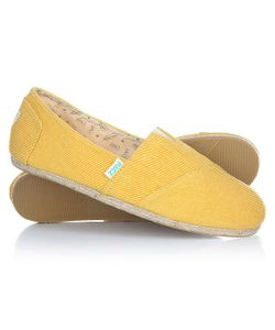 Paez | Эспадрильи Classic Raw Essentials Yellow-0047