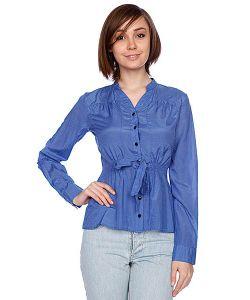 Insight   Рубашка Женская Sassy Grace Shirt Cobalt