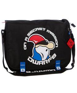 Dwarf8 | Сумка Laptop Shoulder Bag Black