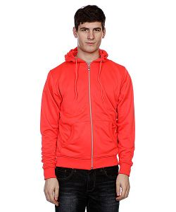 Urban Classics | Толстовка Neon Zip Hoody Infrared