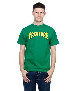 Creature | Футболка The Bible Kelly Green