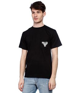 Fallen | Футболка Feedback Pocket Tee Black/White Подарок