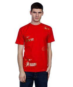 Forum   Футболка Mns Flppn Scrpt Red