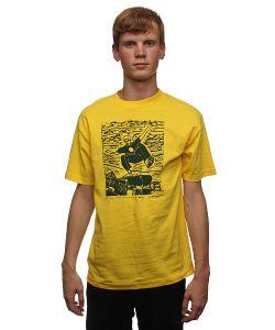 Lakai | Футболка Mj Woodblock Yellow