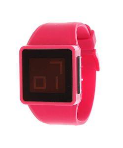 Nixon | Часы The Newton Digital Pink