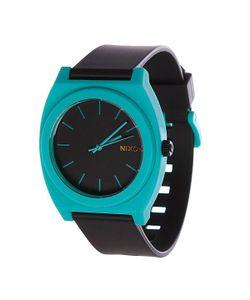 Nixon | Часы The Time Teller P Black/Teal