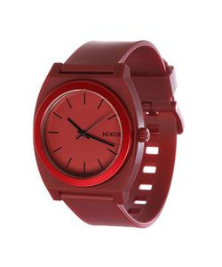 Nixon | Часы The Time Teller P Dark Red Ano