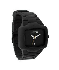 Nixon | Часы The Rubber Player Black