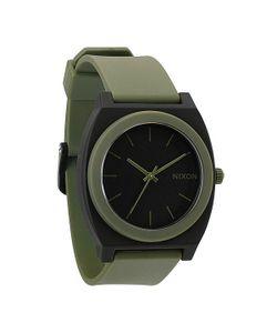 Nixon | Часы The Time Teller P Matte Black/Surplus