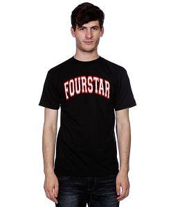 Fourstar | Футболка Arched Black