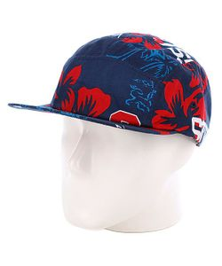 Stussy | Бейсболка College Floral Camp Cap Navy