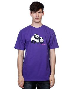 Enjoi | Футболка Piggyback Pandas Purple
