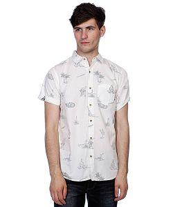 Globe | Рубашка Cabana Shirt Dirty White