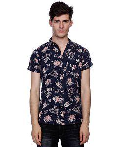 Globe | Рубашка Pina Colada Shirt Midnight