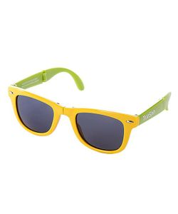 Truespin | Очки True Spin Folding Sunglasses Yellow/Green