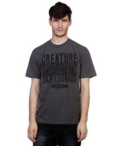 Creature   Футболка Remember To Die Charcoal Heather
