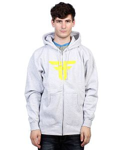 Fallen | Толстовка Trademark Hood Heat Grey/Fluro Yellow