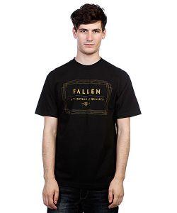 Fallen | Футболка Verte Black/Gold