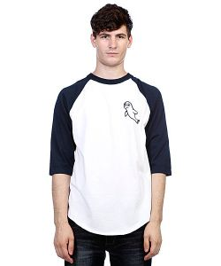 Toy Machine | Лонгслив Seal Raglan Navy/White