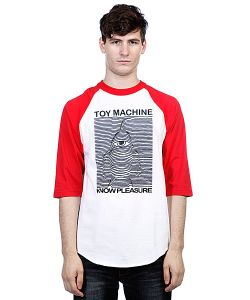 Toy Machine | Футболка Toy Division Red/White