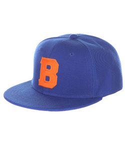 Truespin | Бейсболка С Прямым Козырьком Abc Royal B Blue