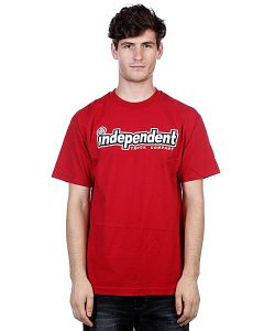 Independent | Футболка Outline Cardinal Red