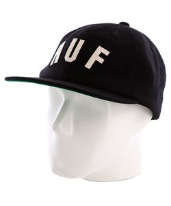 Huf | Бейсболка Shortstop Black