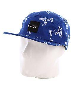 Huf | Бейсболка Пятипанелька Joyride Volley Blue