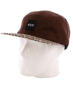 Huf | Бейсболка Пятипанелька Retro Volley Brown