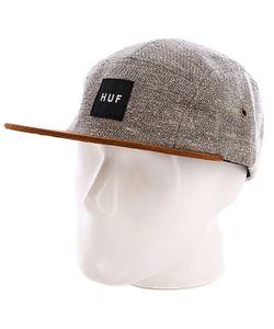 Huf | Бейсболка Пятипанелька Tweed Volley Gray