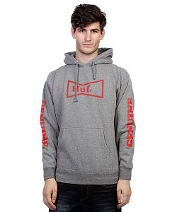 Huf | Кенгуру Genuine Pullover Hood Gray Heather