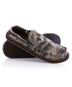 Sanuk | Мокасины Pick Pocket Camouflage