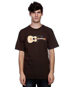 Enjoi | Футболка Guitarded Dark Chocolate