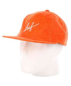 Huf | Бейсболка Formless Script 6 Panel Orange