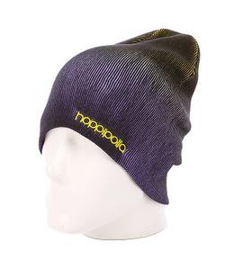 Hoppipolla | Шапка Носок Eiki Helgason Yellow/Purple