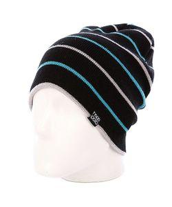 Hoppipolla | Шапка Носок Prir Black/Blue/Grey